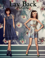 Lay Back (Boho Chic) Ad w/sims 3 by sweetstop7