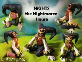 NiGHTS Figure by NiGHTSgirl666