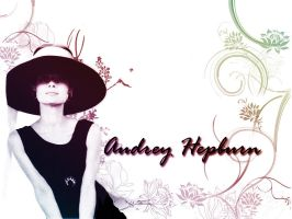 Audrey Hepburn wallpaper by hael89