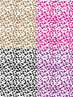 Leopard Print Vector 4 by inferlogic