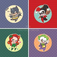Chibis batman by Chpi