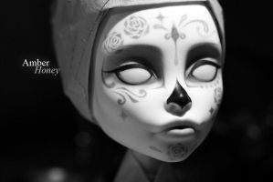 Catrina's ghost - in progress by Amber-Honey
