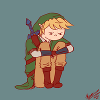 Moping Link by Kyozion