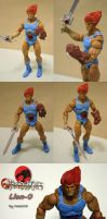 Marvel Legends Lion-O custom by Mace2006