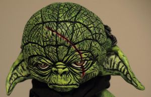 Darth Yoda Custom Munny 2 by VILORIA-ARTS