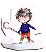 Chibi jack frost by guardianmo