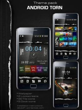 TORN - Android Theme Presentation by romaniandroid