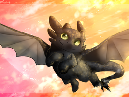 Toothless by Fierying
