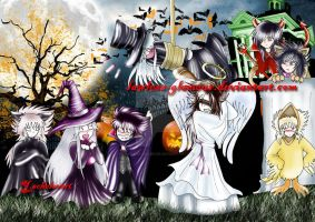 happy halloween by lawless-glamour