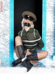 Anasophie Rop as tied up Army Girl by Dani0815