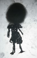 girl with no face by CorporatePuppet