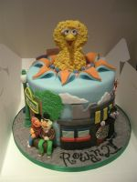 Can You Tell Me How To Get.... Sesame Street Cake! by gertygetsgangster