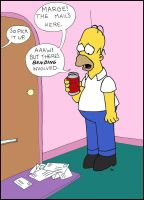 Homers mail. by BUBBLE89