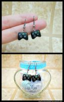 Xbox Controller Earrings by SmallCreationsByMel