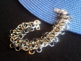 Chainmaille Aluminum Black by Lassarina-Jewelry