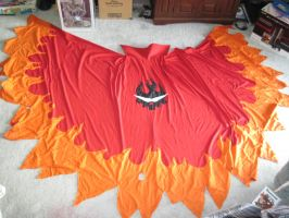 Kamina cape complete by Ansem86