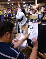 Clone Trooper Caricature by merryalycen