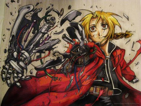FMA - Edward Elric 2 -color- by mavichaos