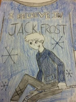 Jack Frost T-shirt design by dannygirl30415