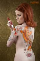 Angy - 60s playboy Tribute IV by JenHell66