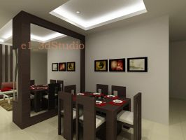 Mrs Sonia House-Dining. by iwan-artwork