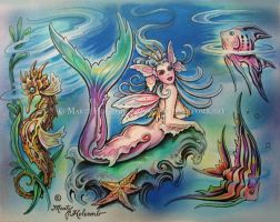 A mermaid by Artistic-Tattooing