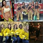 Female Firefighters -- Collage #8 by MosbyRedux