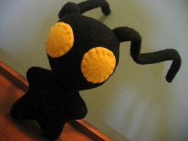 Heartless chibi plush by greenchylde