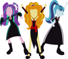 We Are The Dazzlings! by That1MegaLeaFan