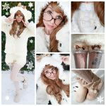 Kawaii snow bear outfit by AlexaPoletti20201