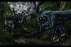 Worgens cat form by shiranui14