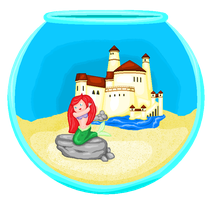 Pocket Sized Ariel by Anzeo