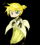 Len in a Banana by RiceBowl13