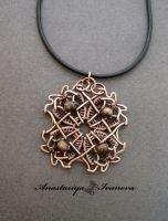 pendant with jasper by nastya-iv83