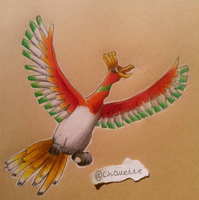 Ho-oh by BlueOwlette