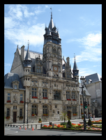 City Hall of Compiegne by BluePalmTree