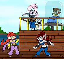 Commission - Platina the Game Genie 2 by PainfulElegy