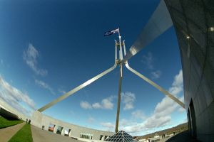 Parliament House flag 2 by imroy