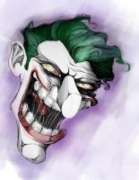 Joker Sketch by gottabecarl