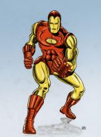 Classic Iron Man by Lord-Makro