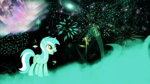 Lyra Wallpaper v.2 1366x768 by madcat74