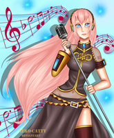 Vocaloid - Luka Megurine by neko-catty