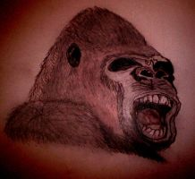 Just a Gorilla by Kim-Mariet