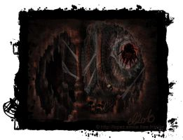 Giant Spider's cave by Emilie-la-vraie
