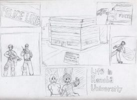 Life in Konoha University Two by VoltsPower2K