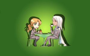 KunZoi - Tea Time by SemiMage