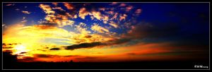 Cloudy Sunset by dj-iso