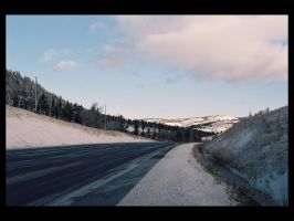 Highway near Merrit by canada-man