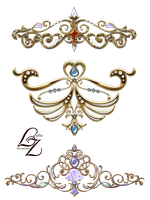Crown Tiara Lyotta by Lyotta