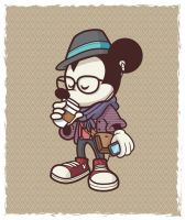 Mickey Mouse C: by cielojello